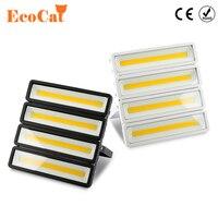 [Эко Cat] Светодиодный прожектор 50 Вт 100 Вт 150 Вт 200 Вт уличная Водонепроницаемая IP66 220 В 230 В светодиодный проектор прожектор бра