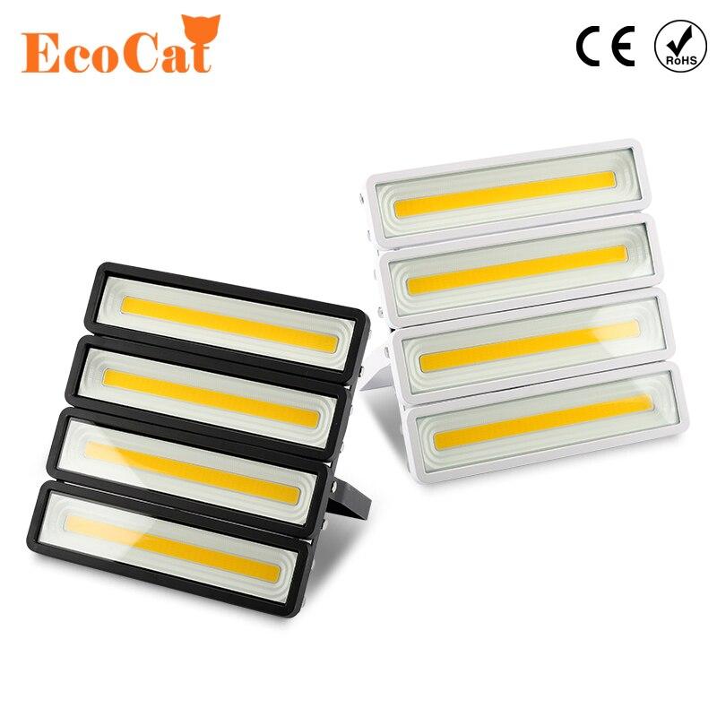 Luz de inundación llevada 50 W 100 W 150 W 200 W impermeable al aire libre IP66 220 V 230 V LED proyector proyector lámpara de pared