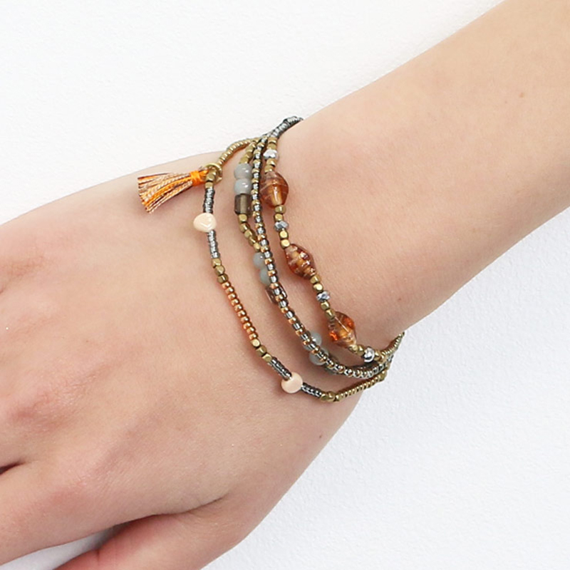 Printemps DIY Bracelet 17008 Perles & Artware artisanat conçu mode