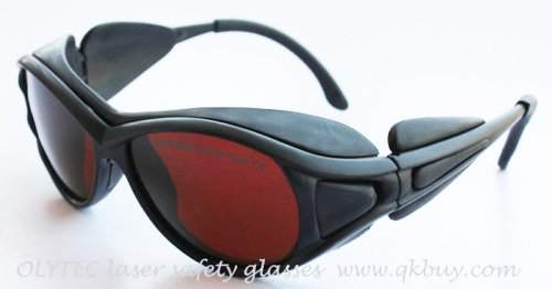 laser safety eyewear 190-540nm & 800-2000nm CE O.D 4+, High V.L.T % for blue and green laser 808, 980, 1064, 1320 etc. elight laser safety eyewear high quality and safety standards ce marked