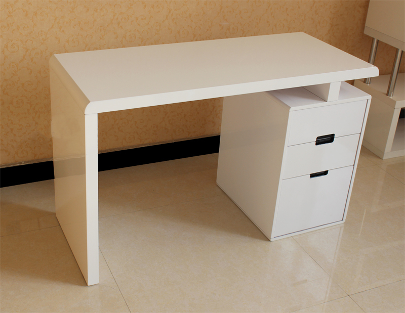 Modern And Simple Combination Bookcase Desk Corner Computer Study Furniture Paint In Desks From On Aliexpress
