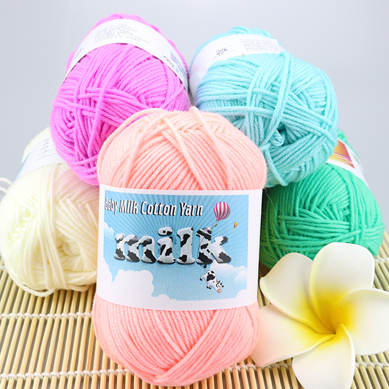 Detail Feedback Questions About Wholesale Milk Cotton Crochet Thick