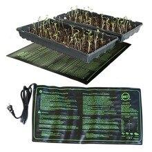 Нагревательный коврик для рассады 50x25 см водонепроницаемый проращиватель семян растений размножение клон пусковая площадка 110 В/220 В Садовые принадлежности 1 шт