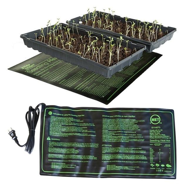 Piantina di Riscaldamento Zerbino 50x25 cm Impermeabile La Germinazione Dei semi