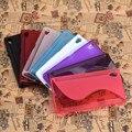 Alta calidad vendedora caliente TPU de goma del caso de la piel cubierta para Sony Xperia Z5 envío gratis snowall