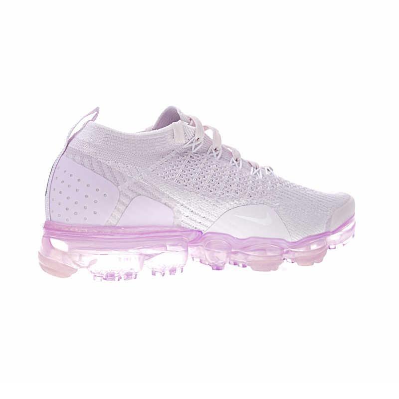 Оригинальные оригинальные женские кроссовки для бега Nike Air VaporMax Flyknit 2,0, Нескользящие удобные классические спортивные дизайнерские Footwear942843-501