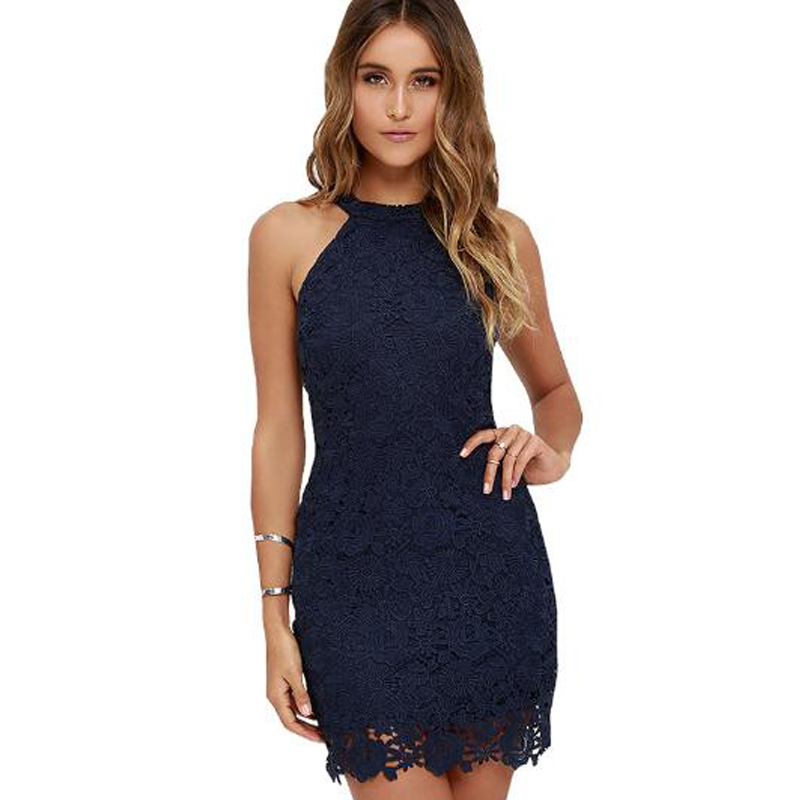 <font><b>2018</b></font> summer women <font><b>sexy</b></font> club <font><b>dress</b></font> o neck solid lace sheath vestidos sleeveless office <font><b>work</b></font> <font><b>dress</b></font> ladies mini <font><b>dress</b></font> image