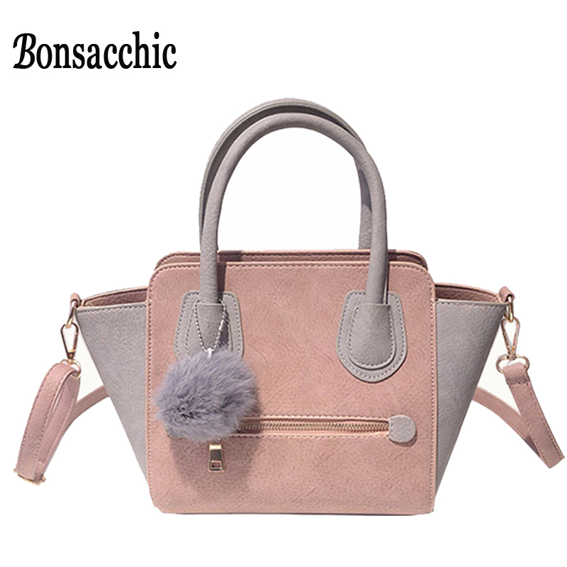 Designer Handbags High Quality Pink Woman Bags Handbags Women Famous Brands Smiley Trapeze Bag Ladies Hand