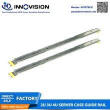 Высокое качество специальный сервер направляющая для наших 2U/3U/4U серверный чехол, 3 секции стойки сервер направляющие