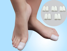 10Pcs Silica Gel Foot Corn Blisters Remover Toe Tube Relief Foot Bunion Pain Toe Finger Protector