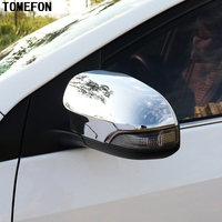 ABS Chrome For Toyota Corolla Altis E170 2014 2015 Side Rearview Mirror Trim Wing Fender Cover Trim 2pcs