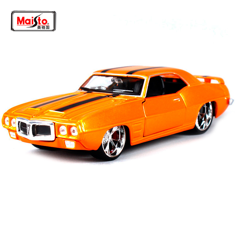 Maisto 1 24 1969 PONTIAC FIREBIRD Diecast Model Car Toy New In Box Free Shipping 31040