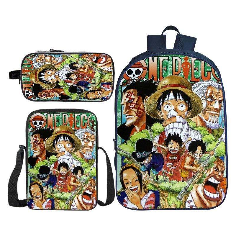 Nouveau chaud 3 pièces/ensemble nouveaux arrivants 3D impression enfants épaule sacs à dos Cartoon enfants bébé sacs d'école pour garçons et filles Bookbag - 6