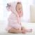 Toallas Con Capucha para Bebé Albornoz toalla de Baño Toalla de Baño de algodón Albornoz Bata Manteau Para niño Recién Nacido Wrap Nuevo Animal de la Historieta Toalla de Baño