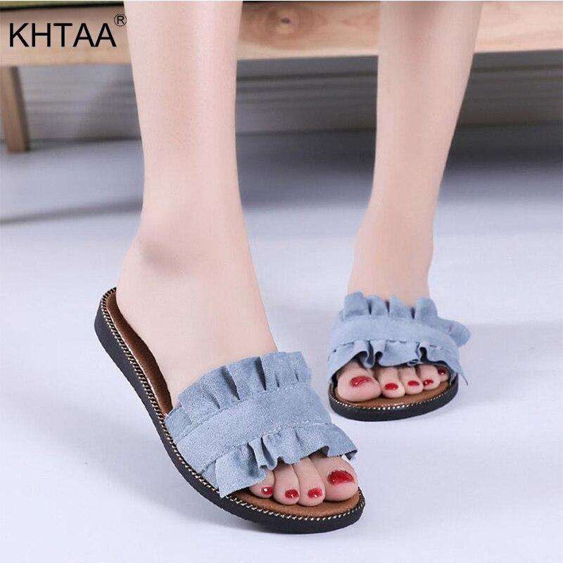 Koovan Frauen Sandalen 2018 Sommer Neue Ins Heiße Frauen Strand Schuhe Transparente Gelee Sandalen Süße Blumen Klippzehe Hausschuhe Frauen Schuhe Schuhe