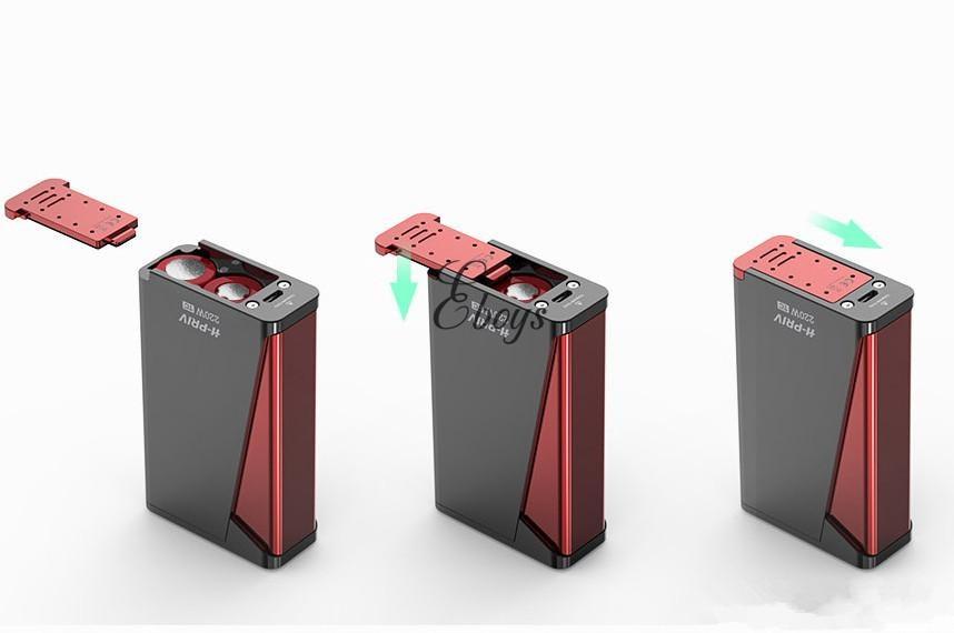 100% Original Smok H Priv 220W Vape Mod Only 18650 Battery