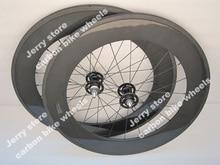 88mm tubular carbon fiber road track wheels fixed gear bicycle wheels 700C single speed bike wheels