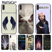 MaiYaCa Supernatural tv show High Quality Phone Accessories Case for iPhone 8 7 6 6S Plus 5 5S SE XR X XS MAX Coque Shell бордюр fap supernatural crema london 5 5x30 5