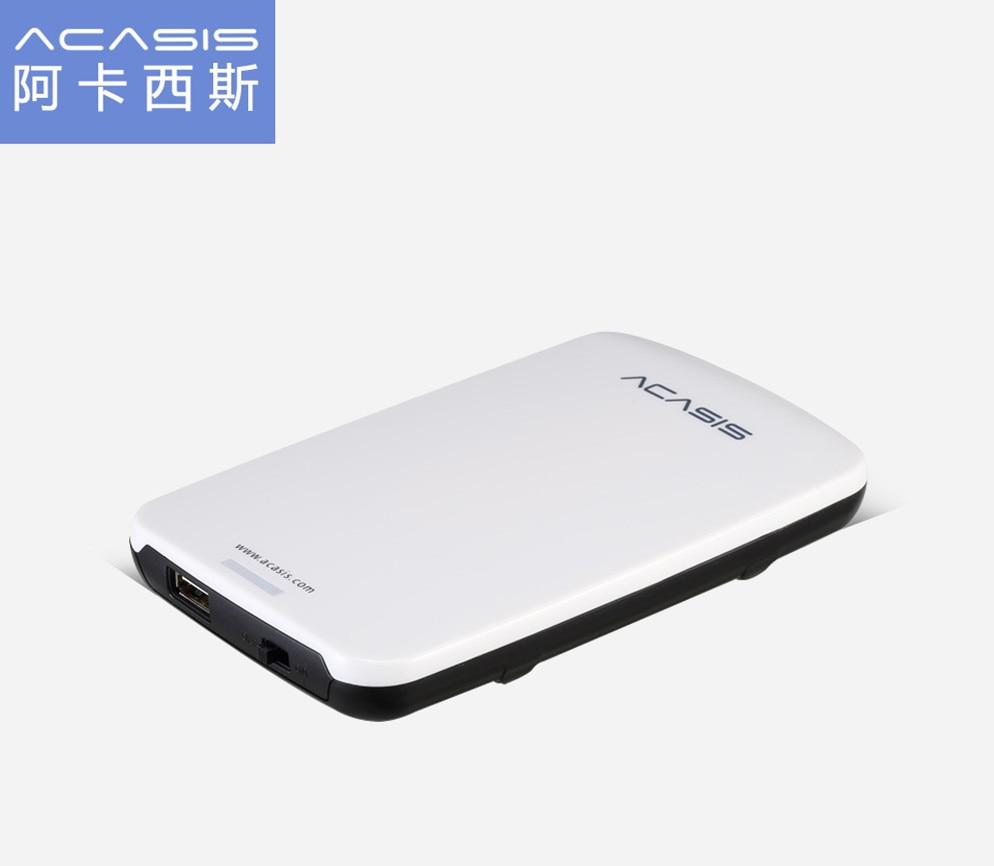 Acasis 500 GB USB2.0 HDD de alta velocidad 2,5 discos duros externos 1 TB dispositivos de almacenamiento portátil de escritorio duro móvil disco