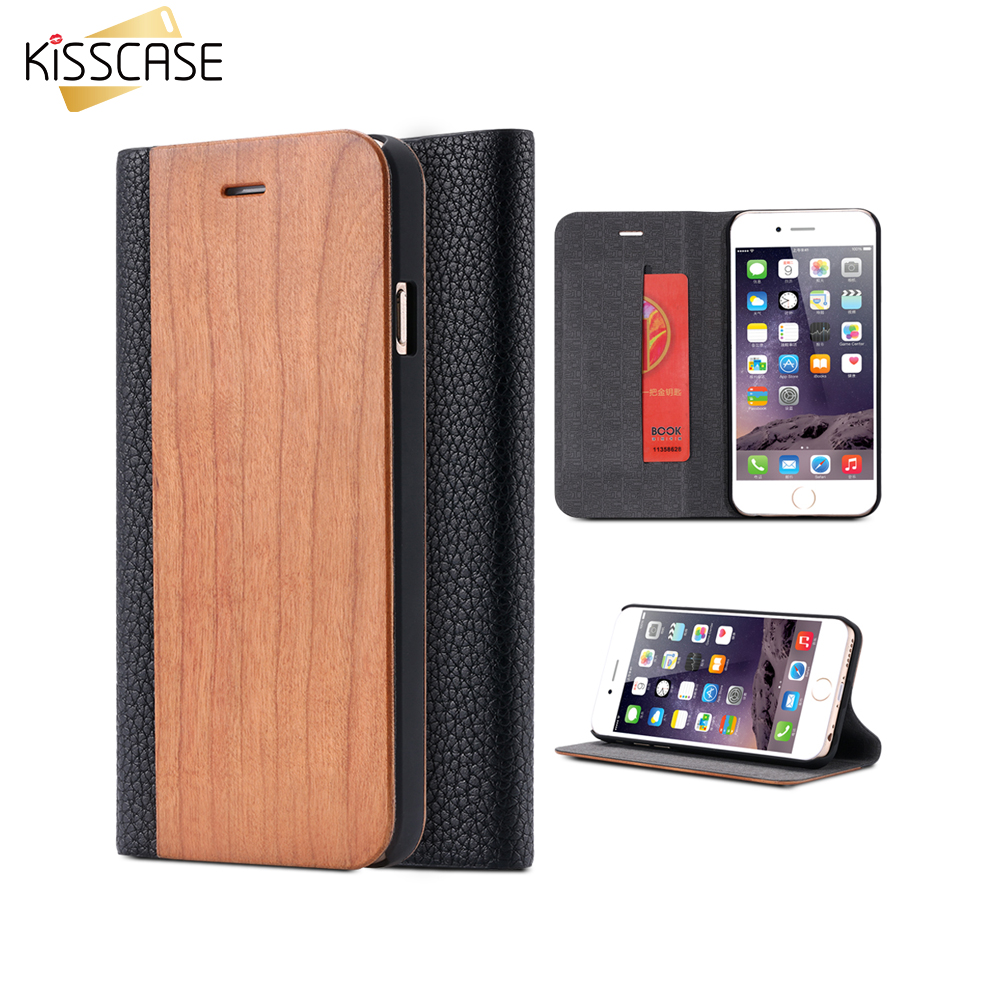 KISSCASE Cover For iPhone 6 6S 6 Pus 6s Plus Sleeve For iPhone 7 7 Plus