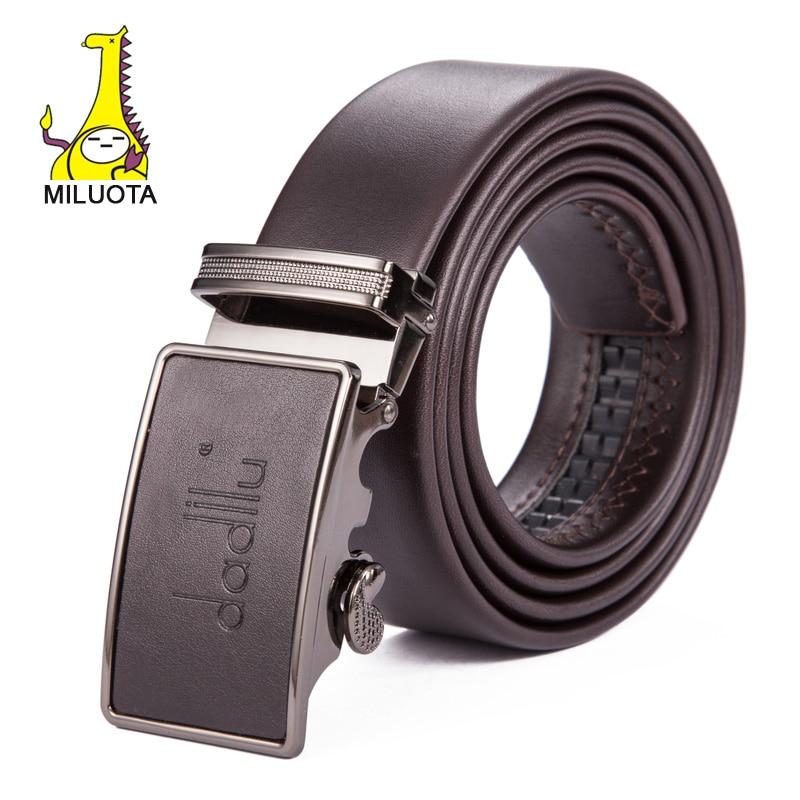 a12fb0b71e4  Miyota  lujo cinturón hombres marca ceinture Cuero auténtico cinturones  para hombres Bussiness cintos cinturones hombre rd798