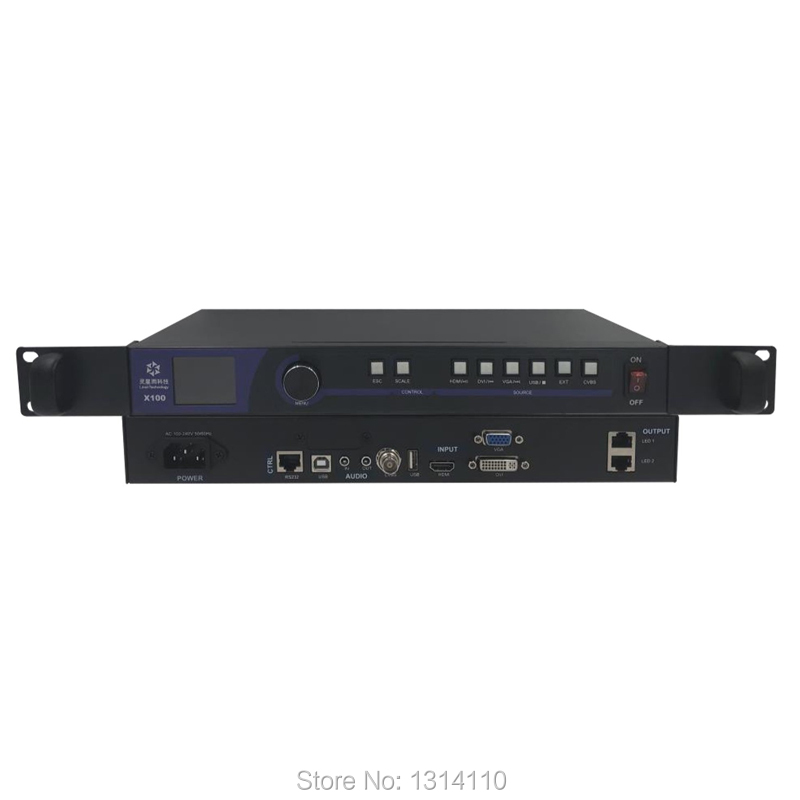 LED Display Video Processor LINSN X100 2in1 LED Display Control System