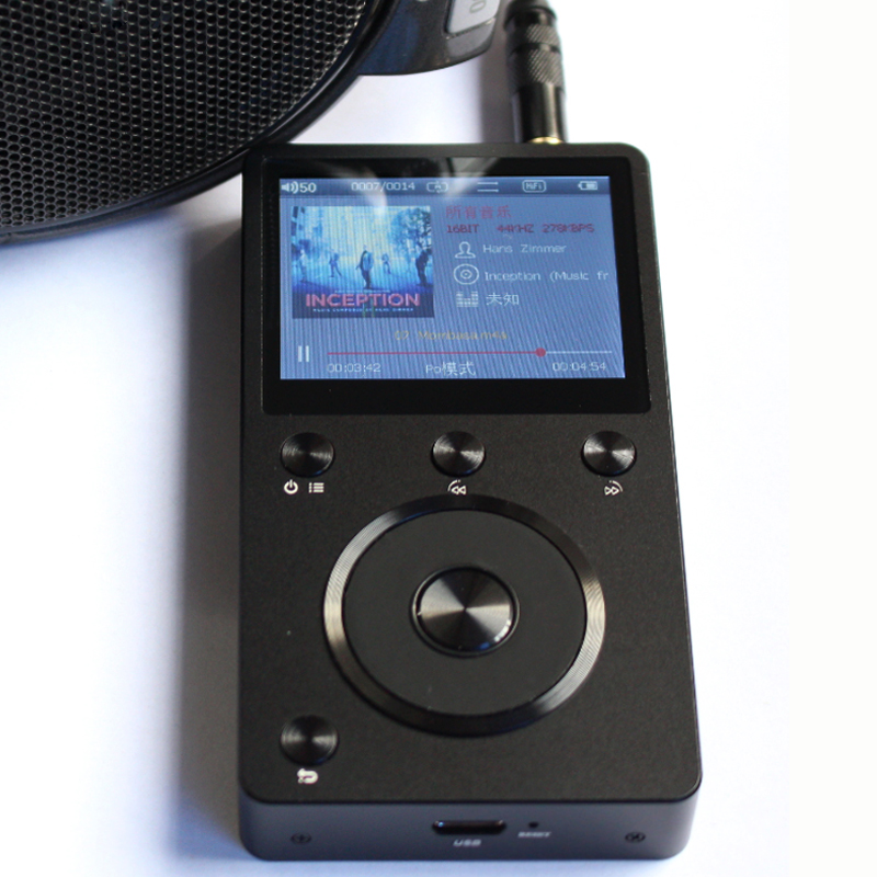 F Audio FA2 DSD AK4497EQ Professional Lossless Music MP3 HIFI Portable Lossless Music Player AK4497EQ DSD
