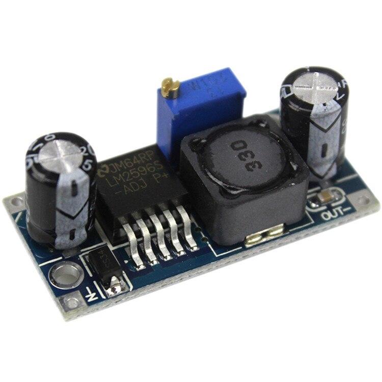 1PCS LM2596 LM2596S-ADJ DC-DC 3-40V adjustable step-down power Supply module 3A adjustable regulator 24V to 12V