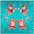 2016 шелк новая коллекция весна бабочки череп леди нью-шарф бандана шарф платок 90 см