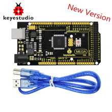 цена на New Keyestudio Super Mega 2560 R3 Advanced 5V 2A MP2307DN SOP-8 +USB Cable For Arduino Mega