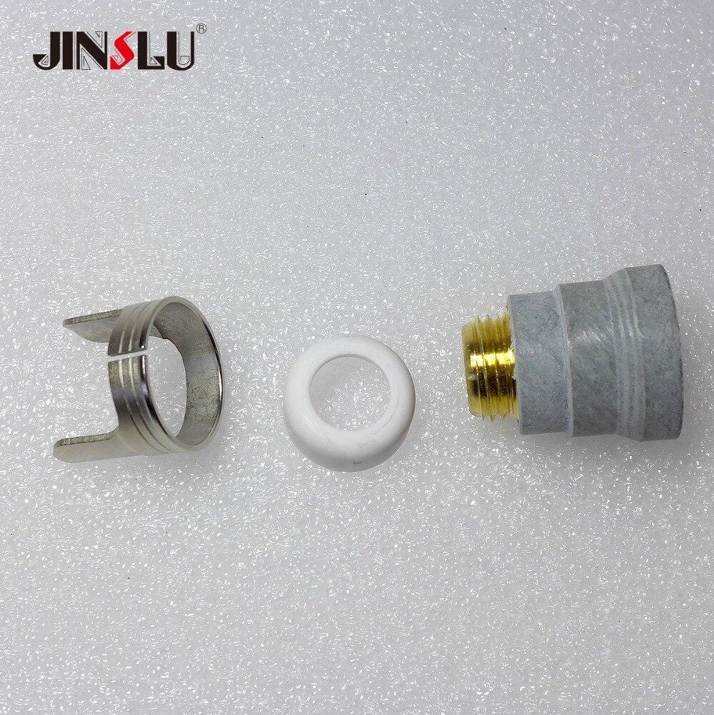 20Pcs Plasma Cutting Torch Kit for PT IPT-60 Electrodes 52582 Nozzles 51313 Hot