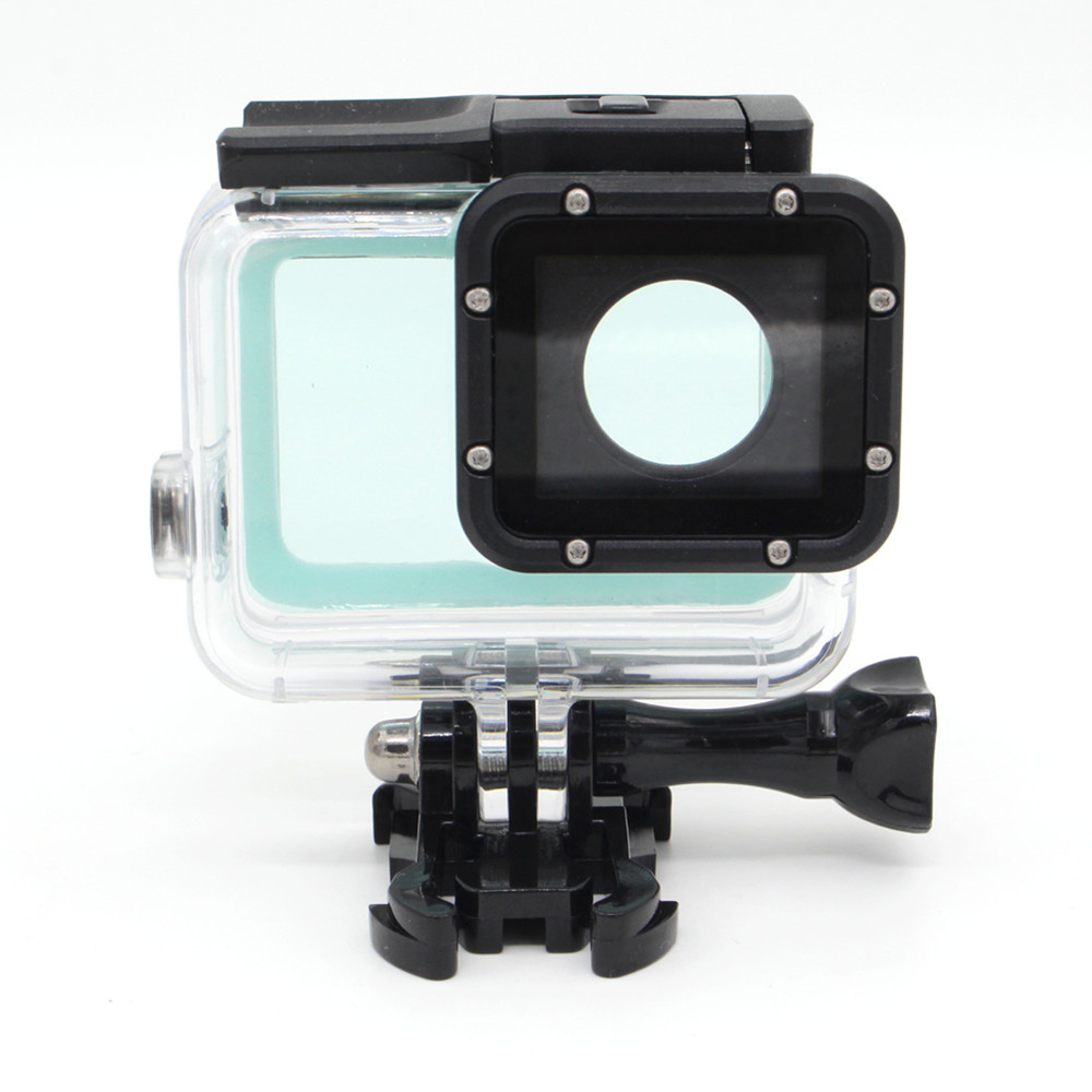 Gopro Hero 6 용 30M 터치 스크린 방수 하우징 케이스 Go Pro Hero5 6 용 수중 보호기 액션 카메라 액세서리