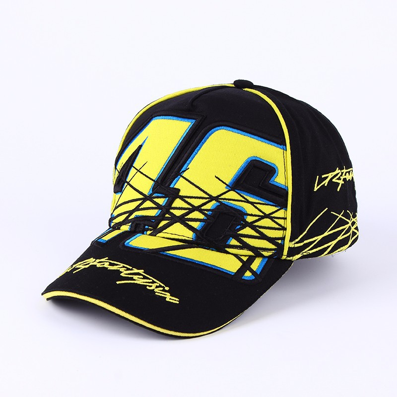 2017 Motogp Hat VR46 Gorras Snapback Vrfortysix Graffiti rossi 46 The Doctor Big Font Embroidery Baseball Cap New Racing bone
