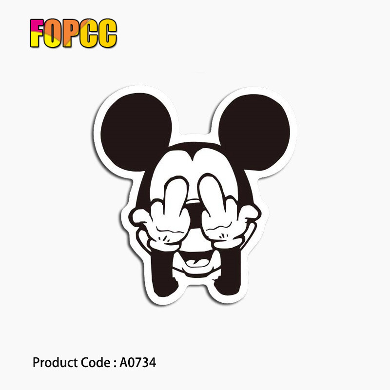 cartoon mickey mouse Stickers for kids Funny DIY Decals Toy  Luggage Phone Styling Home Decor Laptop Car Stickercartoon mickey mouse Stickers for kids Funny DIY Decals Toy  Luggage Phone Styling Home Decor Laptop Car Sticker
