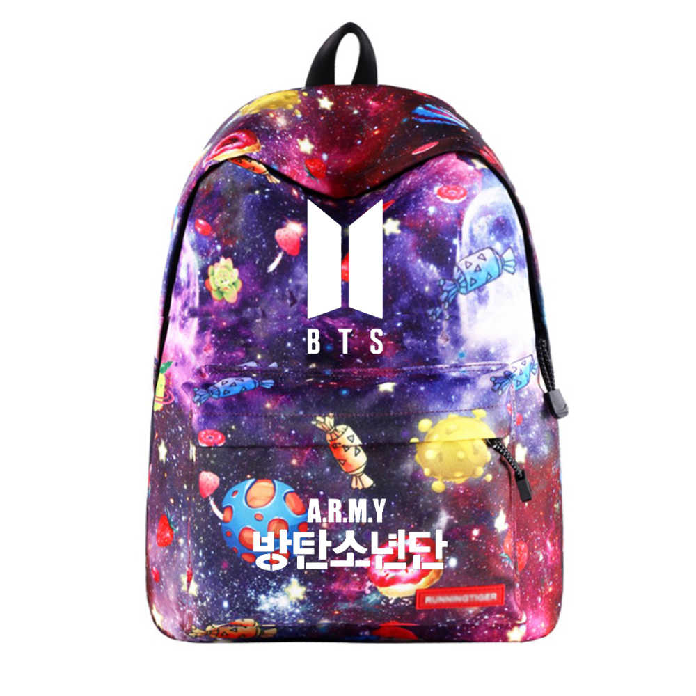 08e7f1ed385c Wishot БЦ рюкзак Школьные ранцы дорожная сумка для подростков девочек Stars  Вселенная Космос галактика печати