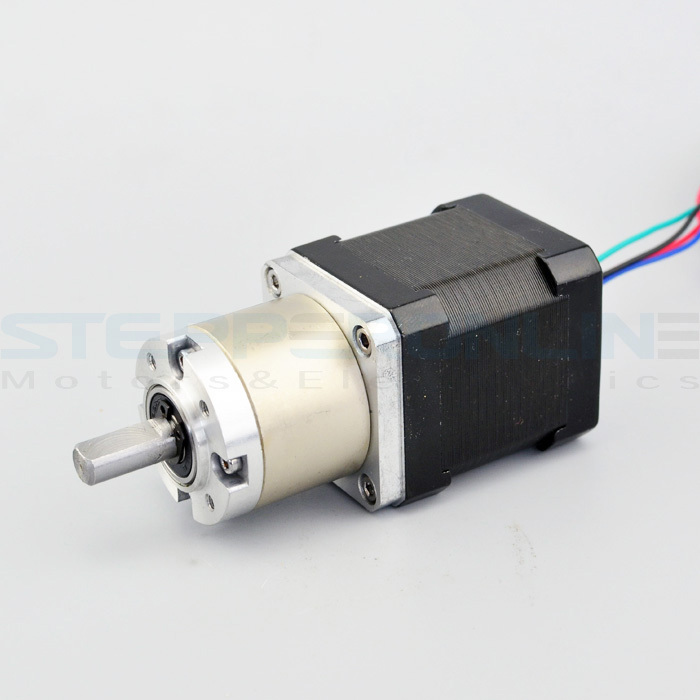 Nema 17 Geared stepper motor Gear ratio 19:1 planetary reduction gearbox stepper motor 1.68A 42.3*42.3*83mm for 3d printer Robot 57mm planetary gearbox geared stepper motor ratio 10 1 nema23 l 56mm 3a