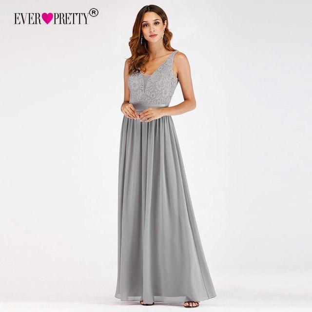 Vestidos de graduacion gris
