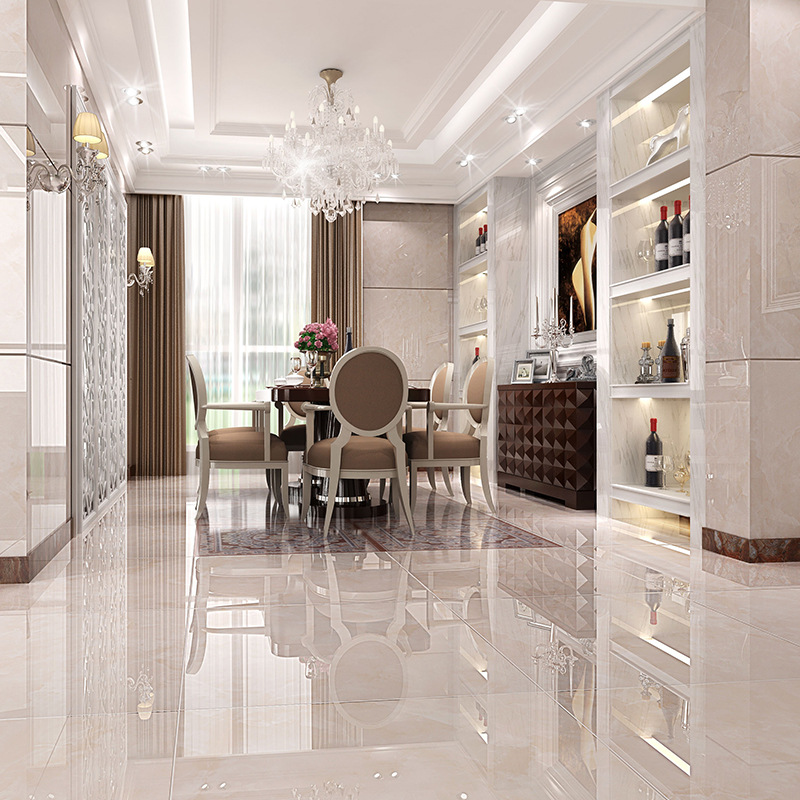 800X800mm Foshan Ceramic Tiles Gold All Cast Glaze Ceramic