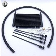 Масляный радиатор алюминиевый трансмиссионный масляный радиатор автоматический сложенный пластинчатый масляный радиатор 4 6 8 12 13Row 15Row 22Row