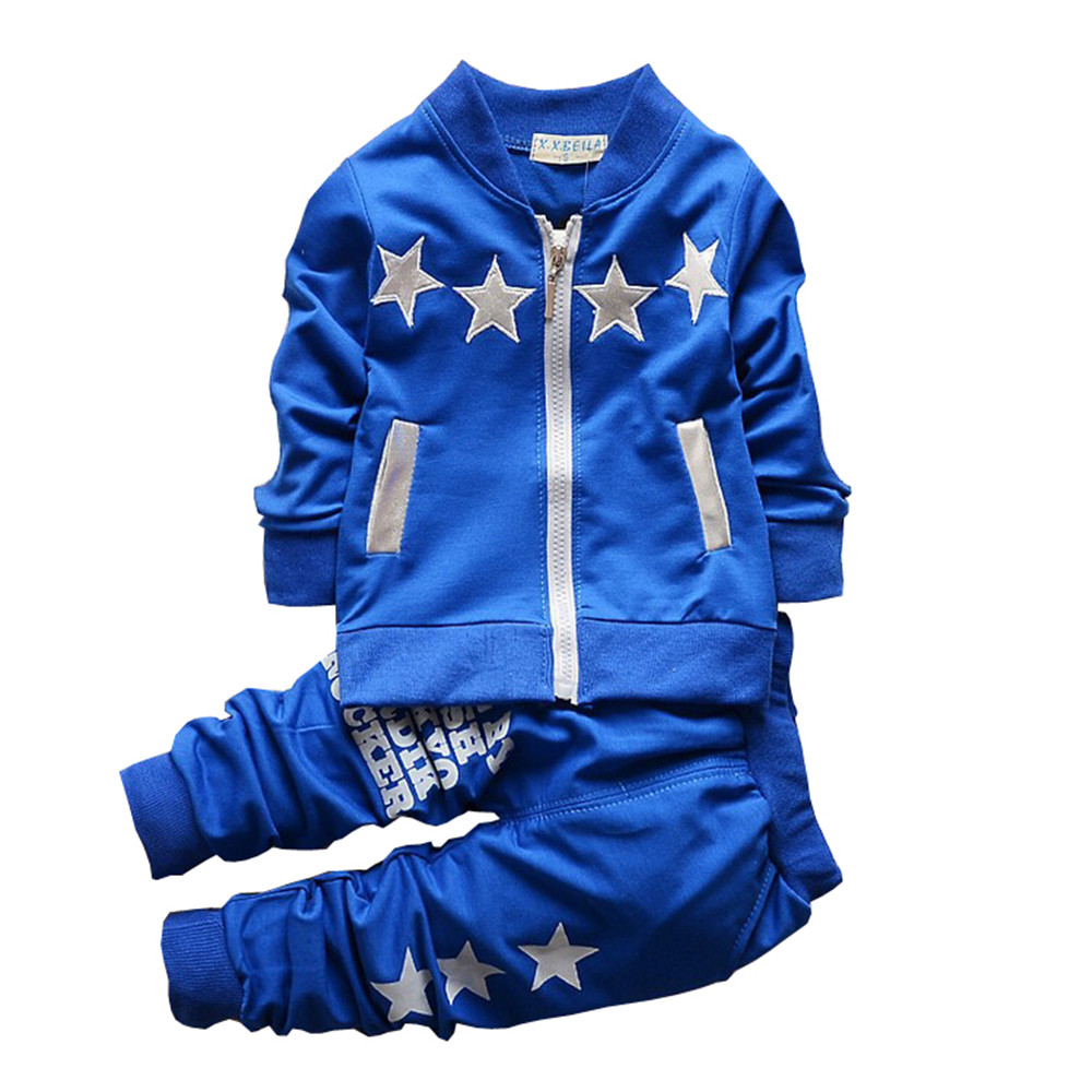 BibiCola Spring Autumn Baby Boy Clothing Set Boy Sport Suit Sets Children Tracksuit Clothes Top + Pant bibicola spring autumn baby boy clothing set boy sport suit sets children tracksuit clothes top pant