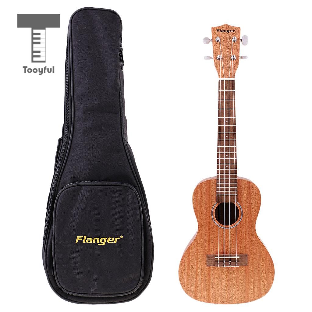 Tooyful 23'' FU-70C Soprano Ukulele Uke Hawaii Acoustic Guitar 4 Strings Musical Instrument with Storage Bag Beginners Gift 26 inchtenor ukulele guitar handcraft made of mahogany samll stringed guitarra ukelele hawaii uke musical instrument free bag