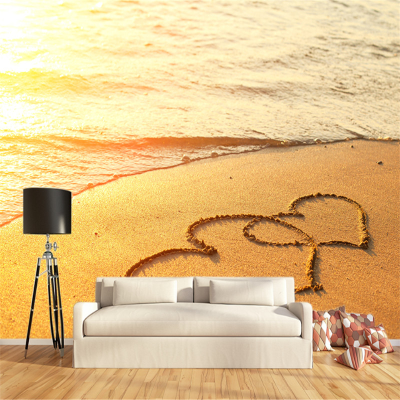 custom modern 3d non-woven photos wallpaper wall mural 3d wallpaper gold coast TV sofa wallpaper home decor for living room  custom mural wallpaper 3d non woven black and white flower hand painted paintings living room sofa tv 3d wall murals wallpaper