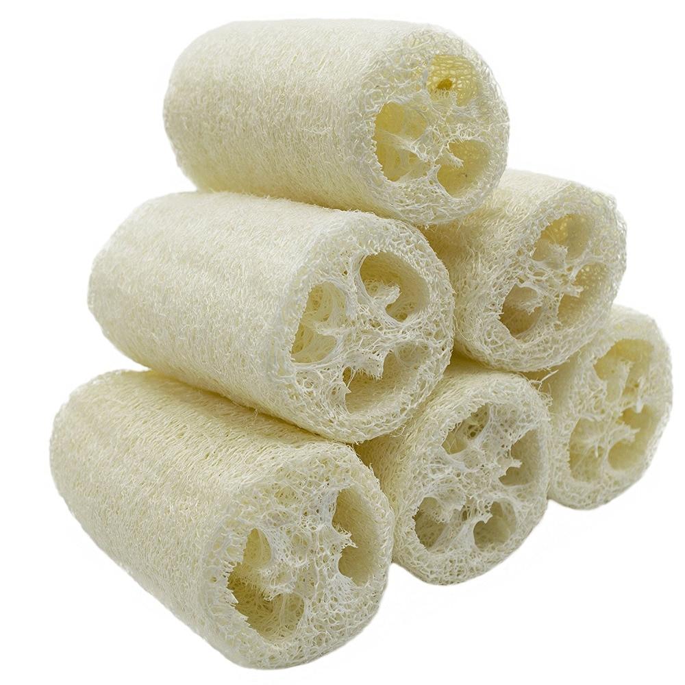 """3 Paket von (ca. 4 """"länge) Loofahs Luffa Spa Peeling Wäscher Besten Luffa Körper Waschen Schwamm Entfernen Abgestorbene Haut"""