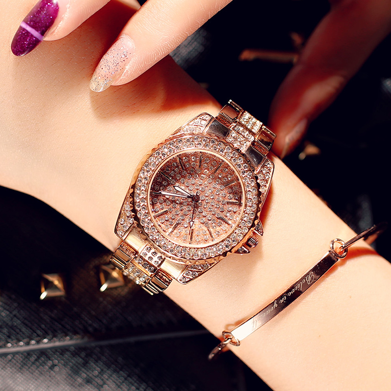 Women Watch Luxury Brand Fashion Casual Ladies Diamonds Watch Quartz Simple Clock Relogio Feminino Reloj Mujer Montre Femme reloj mujer 2017 watch top brand luxury ladies watches womens quartz wrist watch waterproof clock women hours relogio feminino