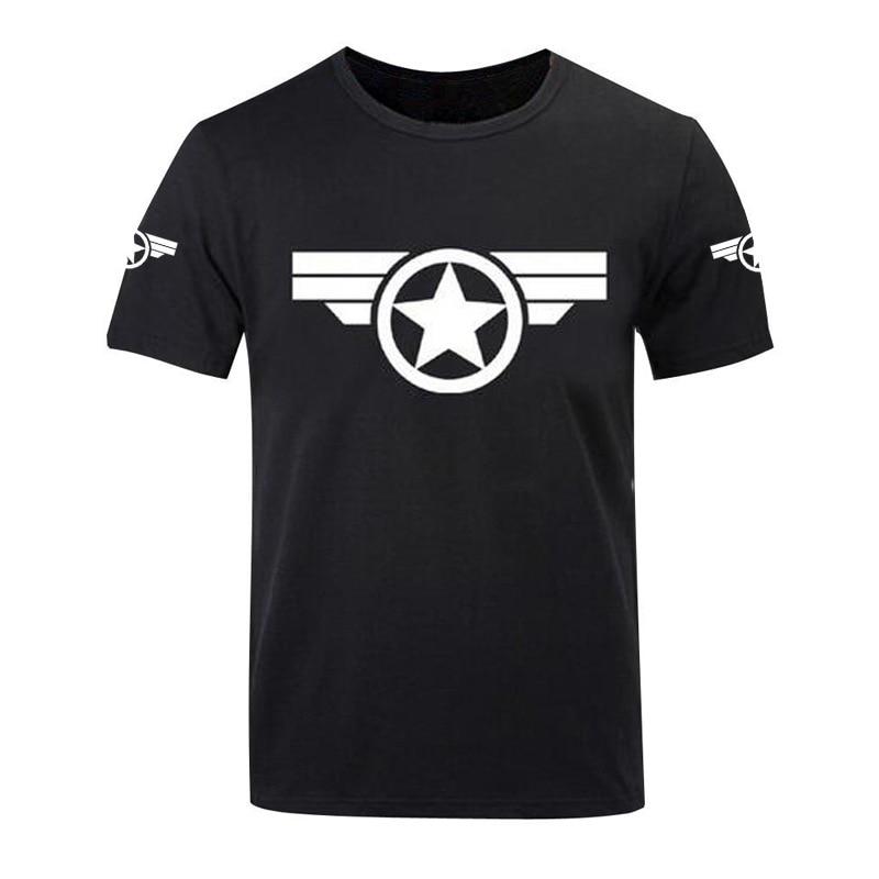 2017-es póló Amerika Amerika nyomtatott pólók Férfi Marvel - Férfi ruházat