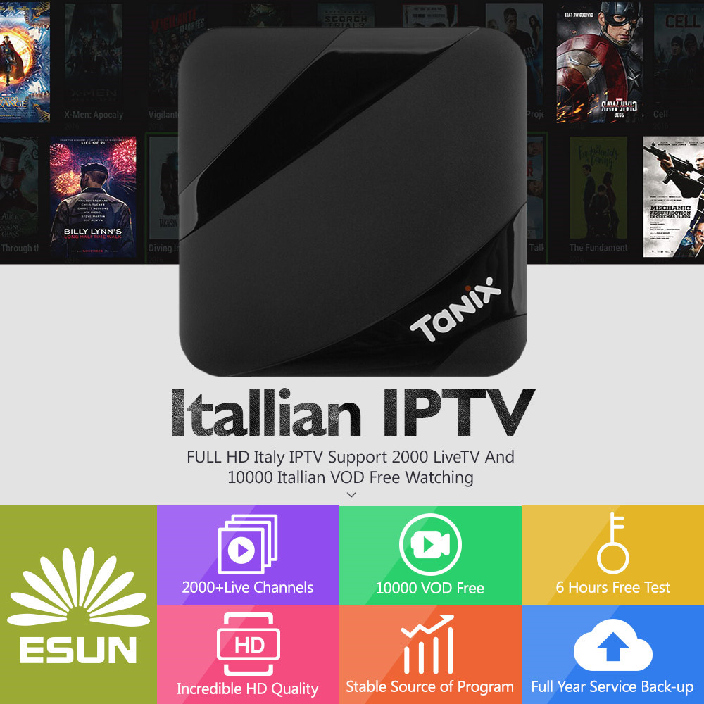 Tanix TX3 Max Smart TV Box Android 7.1 Box Europe/Italy/Europe/Albania/French/UK/Sweden/EX-YU/XXX IPTV VOD set top box italy iptv a95x pro voice control with 1 year box 2g 16g italy iptv epg 4000 live vod configured europe albania ex yu xxx