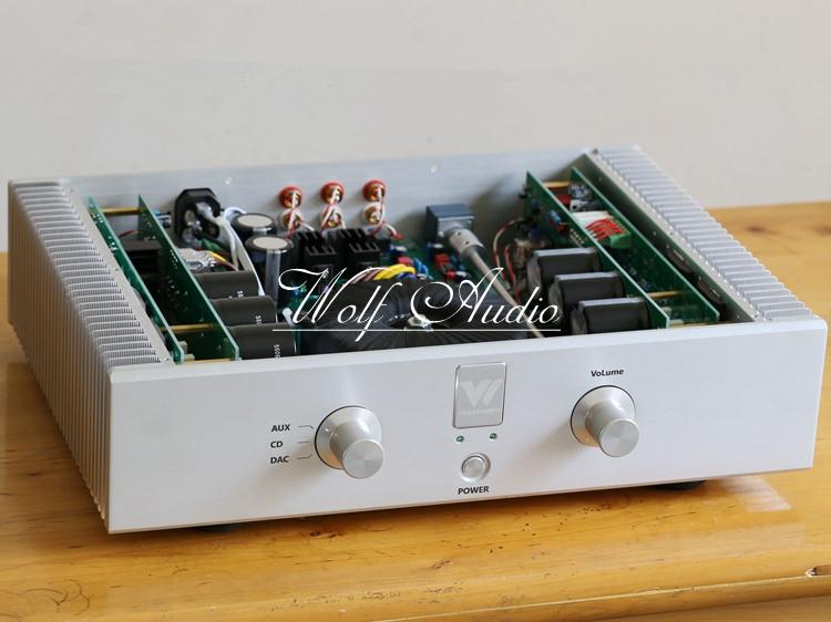 где купить Finished T5 HiFi Two-Channel Integrated Power Amplifier Stereo MBL6010 Preamplifier C2922/A1216 Audio Power AMP по лучшей цене