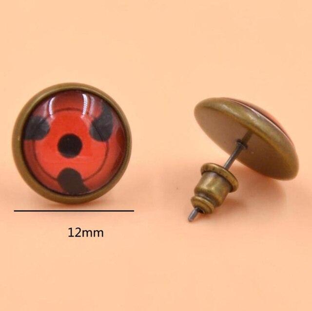 1 Pair Unisex Naruto Stud Earrings