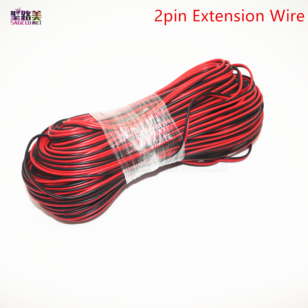 5//10//20M 4//5 Pin Core Extension Cable Wire 5050 3528 RGB RGBW LED Strip Lights