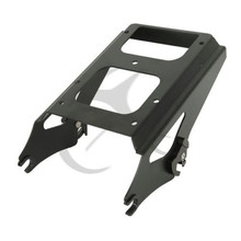Detachable Two-Up Black Chrome Tour Pak Pack Mounting Rack For Harley Touring Models 2009-2013 Motorcycle Accessories